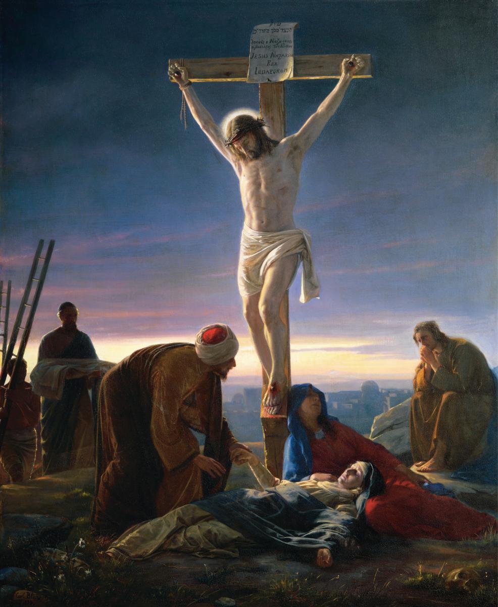 Carl Bloch, Christ at the Cross